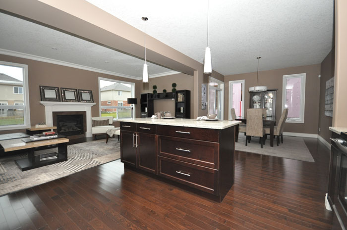 Royal Premier Homes - Eco Friendly Home Builders London - Beaverbrook II - Kitchen Area