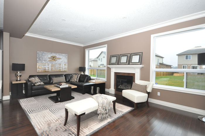 Royal Premier Homes - Eco Friendly Home Builders London - Beaverbrook II - Living Room