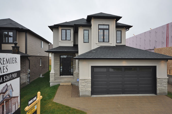 Royal Premier Homes - Eco Friendly Home Builders London - Beaverbrook II - House Outside Front View