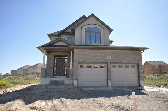 Royal Premier Homes - Eco Friendly Home Builders London - Beaverbrook I - House Outside Front View