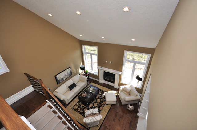 Royal Premier Homes - Eco Friendly Home Builders London - Beaverbrook I - Living Room