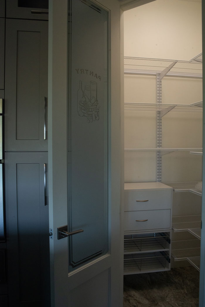 Royal Premier Homes - Eco Friendly Home Builders London - Cranbrook I - Closet with White Door