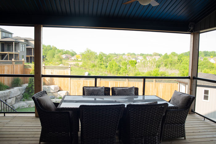 Royal Premier Homes - Eco Friendly Home Builders London - Cranbrook I - Balcony with Chairs and Table