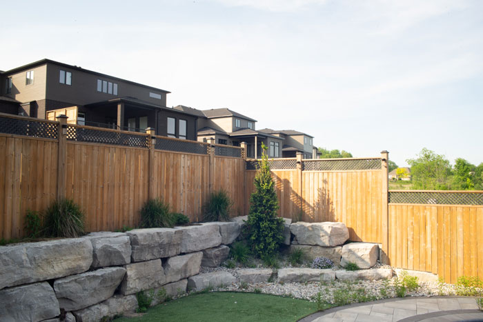 Royal Premier Homes - Eco Friendly Home Builders London - Cranbrook I - Brown Fence