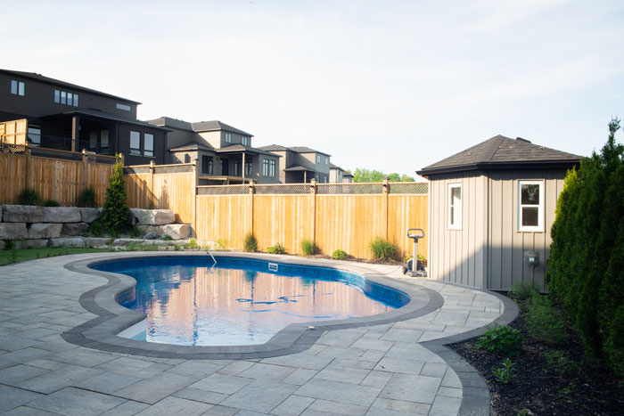 Royal Premier Homes - Eco Friendly Home Builders London - Cranbrook I - Swimming Pool