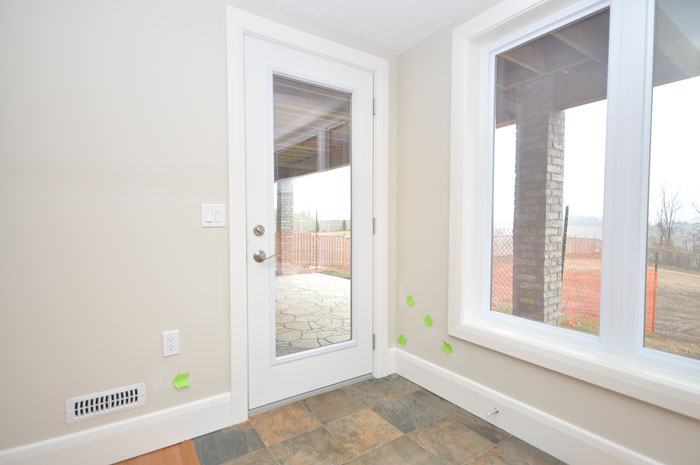 Royal Premier Homes - Eco Friendly Home Builders London - Crestwood II - White Glass Door and Windows