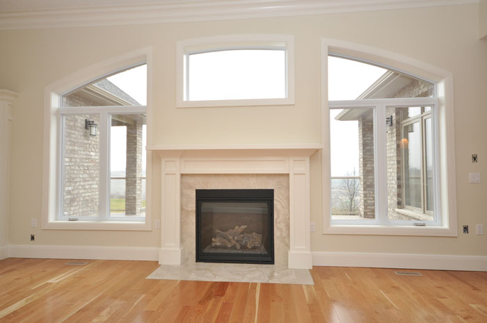 Royal Premier Homes - Eco Friendly Home Builders London - Crestwood II - Fireplace