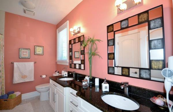 Royal Premier Homes - Eco Friendly Home Builders London - Crestwood I - Wash Room Painted with Pink