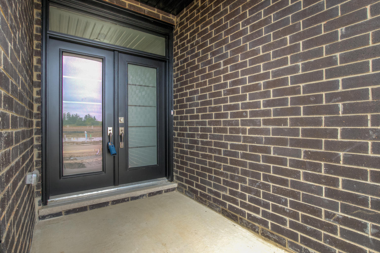 Royal Premier Homes - Eco Friendly Home Builders London - Frontier - Black Door Entrance