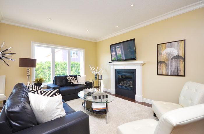 Royal Premier Homes - Eco Friendly Home Builders London - Navin II - Living Room