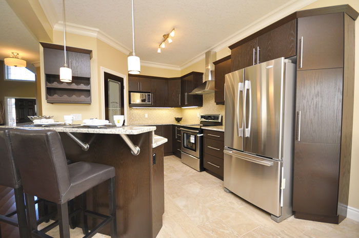 Royal Premier Homes - Eco Friendly Home Builders London - Navin II - Kitchen Area