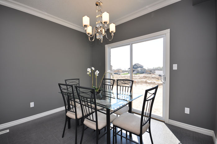 Royal Premier Homes - Eco Friendly Home Builders London - Navin I - Dining Area