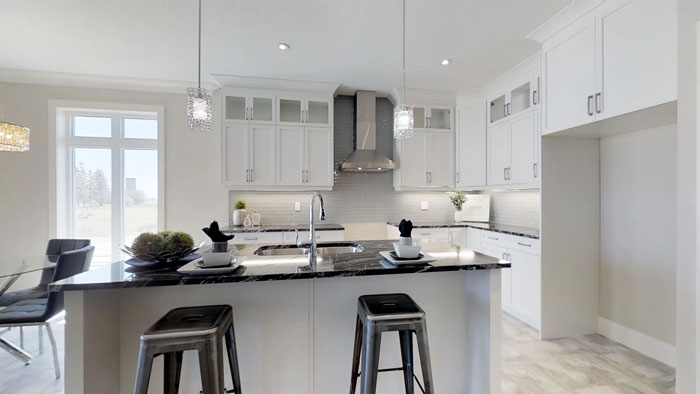 Royal Premier Homes - Eco Friendly Home Builders London - Privet - Kitchen Area
