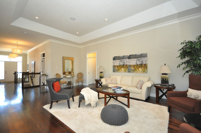 Royal Premier Homes - Eco Friendly Home Builders London - Tamarack - Living Room