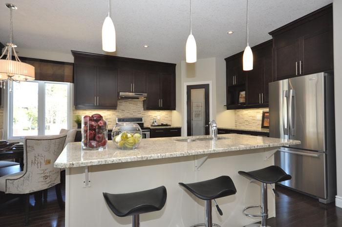 Royal Premier Homes - Eco Friendly Home Builders London - Tamarack - Kitchen Area