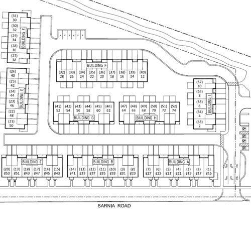 Royal Premier Homes - Home Developments London - Western Village - Map Image